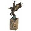 Statue-bronze-aigle-a