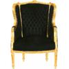 Fauteuil-Louis-XVI-noir-dore