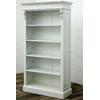 Bibliotheque-Empire-acajou-blanc