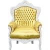 fauteuil-baroque-blanc-dore