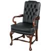 fauteuil-victorien-noir