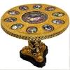 table-royale-porcelaine-bronze