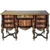Bureau Mazarin style Louis XIV en marqueterie Boulle