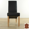 chaise-cuir-vachette-noir-e