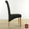 chaise-cuir-vachette-noir-f