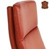 Chaise-cuir-veritable-rouge-d