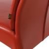 Chaise-cuir-veritable-rouge-e