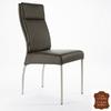 Chaise-cuir-marron-veritable
