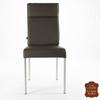 Chaise-cuir-marron-veritable-a