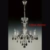 Lustre-baroque-cristal-Wranovsky-chrome