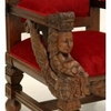 Trone-royal-sphynges-rouge-a