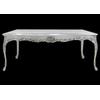 Table salle à manger en hêtre argenté 200x100cm Oslo