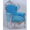Fauteuil-baroque-turquoise-argent-a