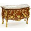 Commode royale style Louis XV en marqueterie et bronze Versailles