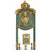 Miroir-baroque-vert