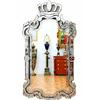 Miroir royal vénitien 122x66cm Carsoli