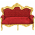 Canape-royal-rouge-dore