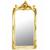 Miroir-cherubins-blanc-dore