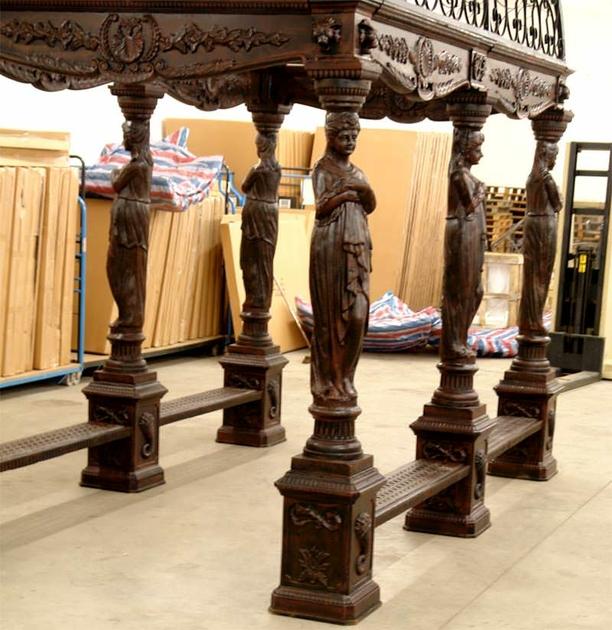 Gloriette n oclassique en fonte et fer forg mobilier et for Deco jardin fonte