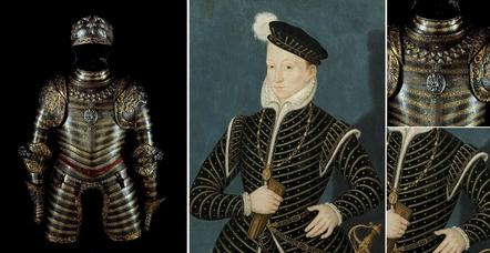 Armure Henri II