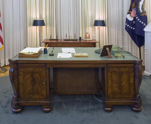 Les 6 Bureaux Mythiques Du Bureau Ovale De La Maison