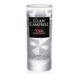 verre clan campbell serigraphi 17 cl verre whisky. Black Bedroom Furniture Sets. Home Design Ideas