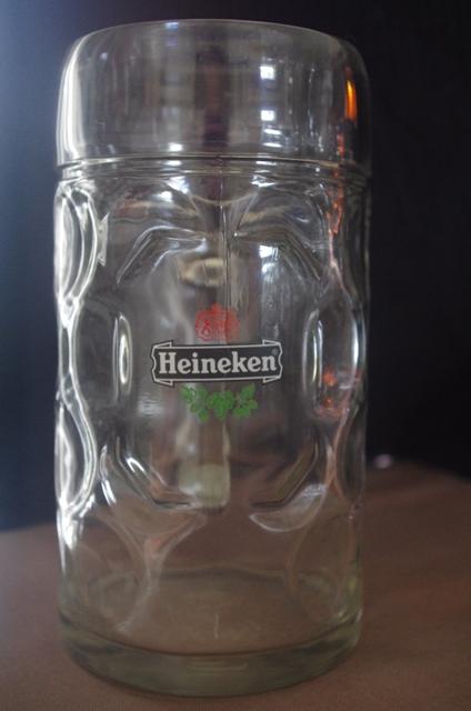 Verre biere chope heineken 1l verre bi re verre heineken leszitounes - Chope de biere 1l ...