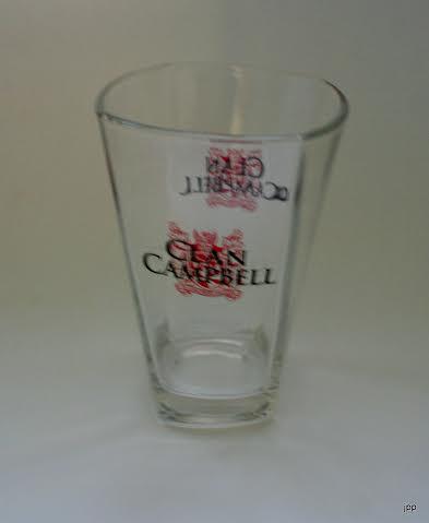 verre clan campbell conique whisky verre whisky verre. Black Bedroom Furniture Sets. Home Design Ideas