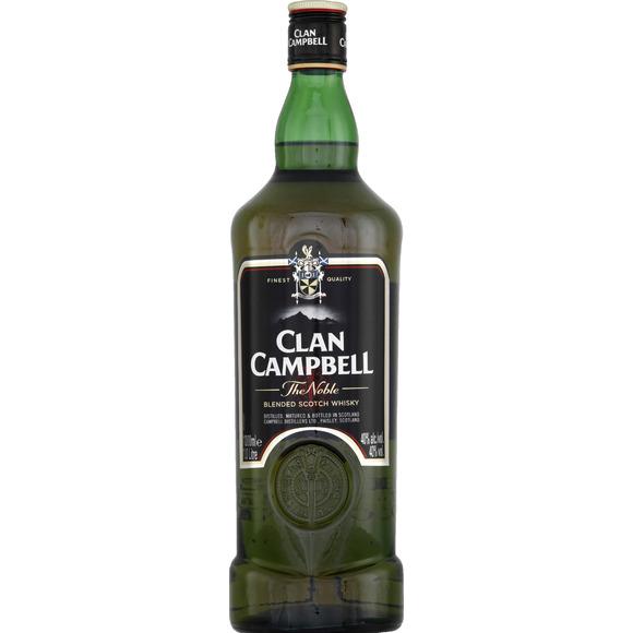 bouteille clan campbell whisky ecosse blended 1 l ap ros. Black Bedroom Furniture Sets. Home Design Ideas