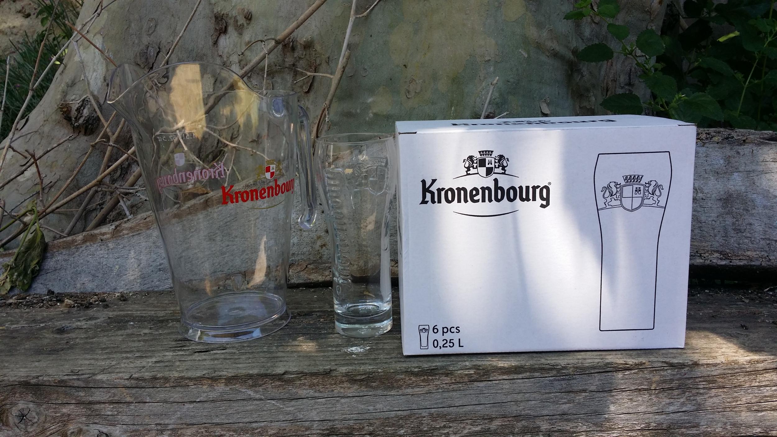 6 verres bière affligem 25cl no Heineken 1664