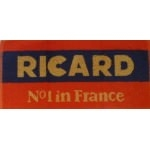Serviette de bar Ricard