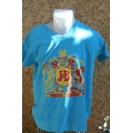 tee shirt JB bleu