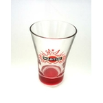 Verre martini rouge