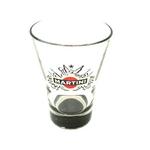 verre martini noir