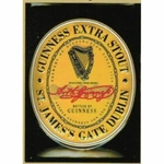 PLAQUE METAL  PUB  BIERE GUINNESS