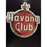 Plaque en metal havana club