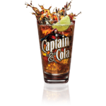 verre captain cola rhum
