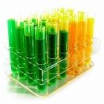 24 tubes à essai shooters plastiques