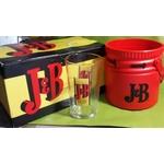 Packs JB discothéque 6 verres JB  et seau à glace JB