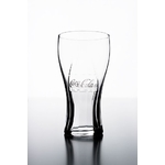 Verre coca cola transparent bouteille de coca cola