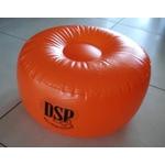 Pouf  gonflable orange desperados don't stop the party