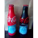 lots de 2 bouteilles coca cola Olympique de Marseille