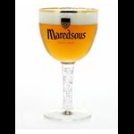 Verre à bière Maredsous abbaye 50 cl