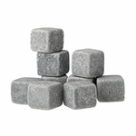 9 glaçons en pierre et son sac