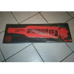 Grand tapis de bar caoutchouc desperados red