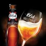 Verre à pied 1664 bière millésime