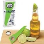 Couteau scie à citron et decapsuleur