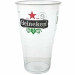 Lot de 50 verres à bière Heineken jetables 25 cl