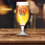 verre à bière 1947 kronenbourg 25 cl