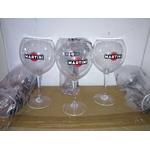 verre martini royal piscine ballons acrylique